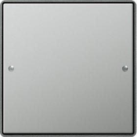 Zestaw przełączn. pojedyncza Gira E22 naturalny stalowy 2131210