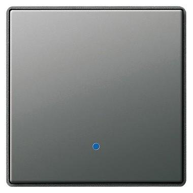 Klawisz System 2000 wyłącznik dotyk. Gira E22 kolor nat. stalowy 226120