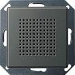 Głośnik Radio pt. Gira E22 naturalny stalowy 228220