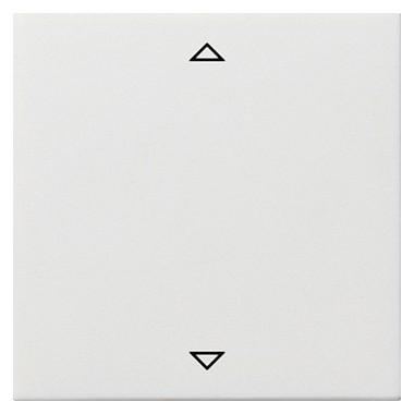 Klawisz żaluzjowy standardowy Gira F100 biały 2324112