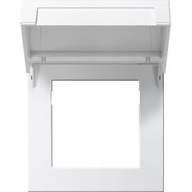 Ramka montażowa z klapką Gira F100 biały 2658112