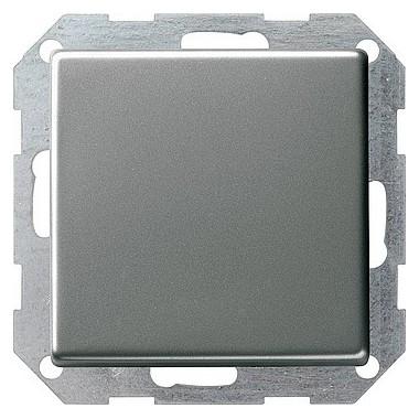 Łącznik przyciskowy krzyżowy podśw. Gira E22 naturalny stalowy 285120
