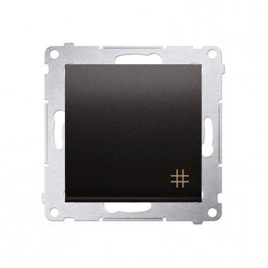 Wyłącznik krzyżowy 10A SIMON 54 - antracyt DW7.01/48