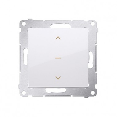Wyłącznik żaluzjowy 1-0-2 SIMON 54 biały DZW1K.01/11