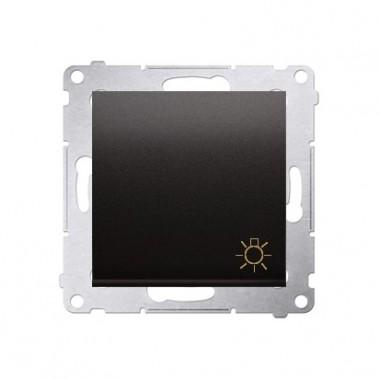 Przycisk Światło 10A SIMON 54 - antracytowy DS1.01/48