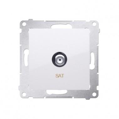 Gniazdo antenowe SAT SIMON 54 biały DASF1.01/11