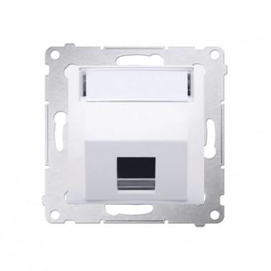 Adapter gniazd keystone poj. skośny Simon 54 biały DKP1S.01/11