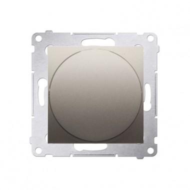 Ściemniacz przyciskowo-obrotowy 20W-500W SIMON 54 - złoty mat DS9T.01/44