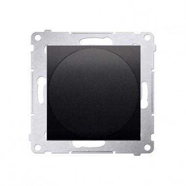 Ściemniacz przyciskowo-obrotowy 20W-500W SIMON 54 - antracyt DS9T.01/48