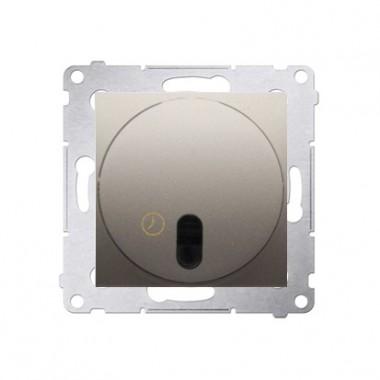 Łącznik z opóźnieniem wyłączenia SIMNO 54 - złoty mat, metalizowany DWC10T.01/44