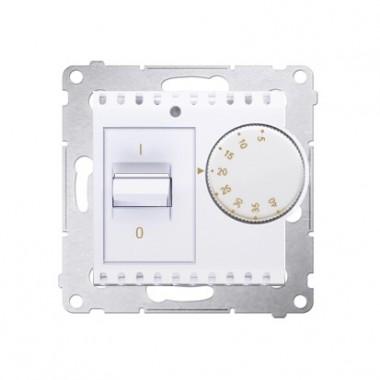 Regulator temperatury pomieszczenia SIMON 54 - biały DRT10W.02/11