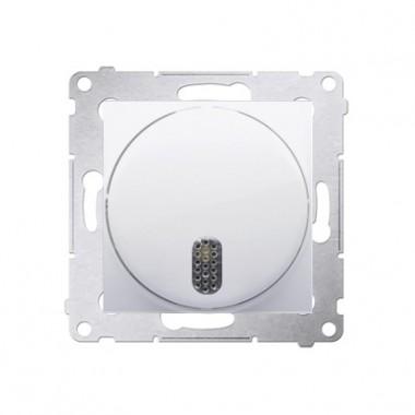 Dzwonek elektroniczny SIMON 54 biały DDS1.01/11