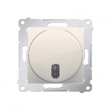 Dzwonek elektroniczny (moduł) 230V~, krem DDS1.01/41