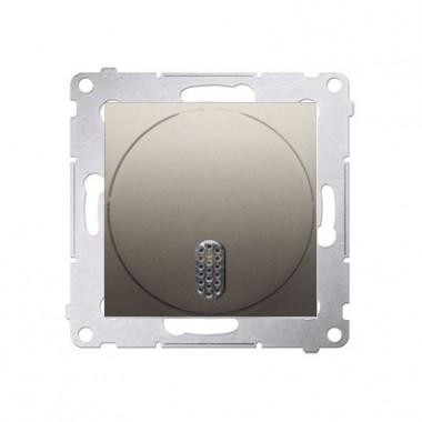 Dzwonek elektroniczny (moduł) 230V~, złoty mat DDS1.01/44