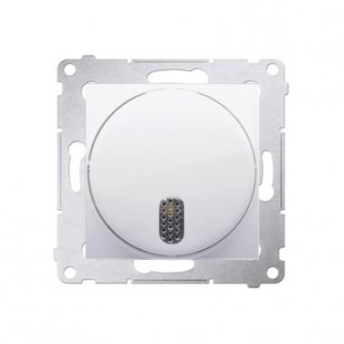 Dzwonek elektroniczny 8–12 V SIMON 54 biały DDT1.01/11