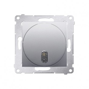 Dzwonek elektroniczny (moduł) 8–12 V~, srebrny mat DDT1.01/43