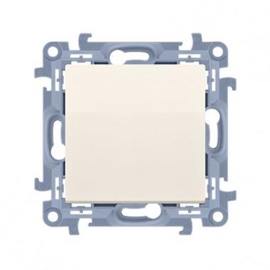 Łącznik jednobiegunowy  (moduł) 10AX, 250V~,  krem CW1.01/41