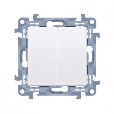 Łącznik świecznikowy (moduł) 10AX, 250V~,  biały CW5.01/11