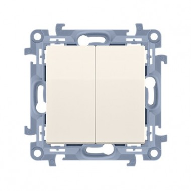 Łącznik świecznikowy (moduł) 10AX, 250V~,  krem CW5.01/41
