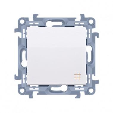 Łącznik krzyżowy (moduł) 10AX, 250V~,  biały CW7.01/11