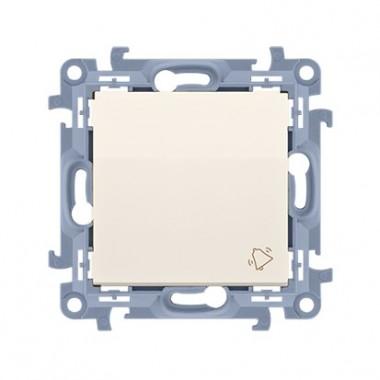 """Przycisk """"dzwonek"""" (moduł) 10AX, 250V~,  krem CD1.01/41"""