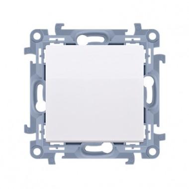 Przycisk bez piktogramu (moduł) 10AX, 250V~,  biały CP1.01/11