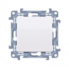 Zaślepka ramki (moduł). Mocowanie za pomocą łapek lub wkrętów, biały CPS.01/11