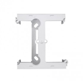 Element rozszerzający puszkę pojedynczą składaną do ramek wielokrotnych.Głębokość 40 mm, biały CSH/11