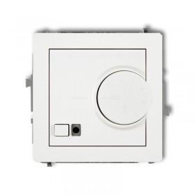 Mechanizm elektronicznego regulatora temperatury z czujnikiem podpodłogowym Karlik DECO DRT-1 biały