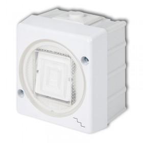 Łącznik schodowy podświetlany Karlik SENIOR WHS-3L biały