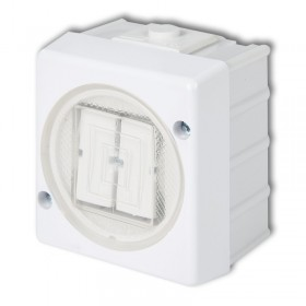 Łącznik świecznikowy podświetlany Karlik SENIOR WHS-2L biały