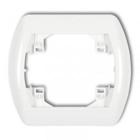 Ramka pozioma pojedyncza Karlik TREND RH-1 biały
