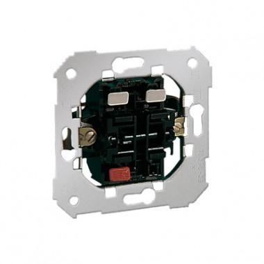 Przycisk podwójny zwierny: 1 wejście, 2 wyjścia (mechanizm), 10A, 250V~, szybkozłącza 75399-39