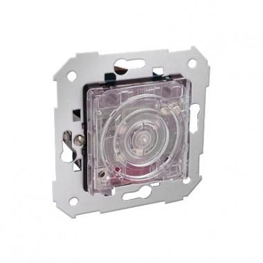 Ściemniacz naciskowy z podświetleniem 40–500 W / VA (mechanizm). Kolor podświetlenia – niebieski 75305-69
