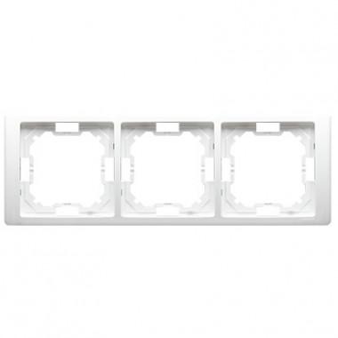 Ramka 3-krotna NEOS – uniwersalna poziom i pion, biały BMRC3/11