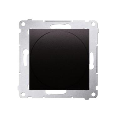 Ściemniacz obrotowy do LED ściemnialnych 230 V (moduł) 2–250 W, antracyt. Maksymalna ilość zródeł LED - 10 szt. DS9L.01/48