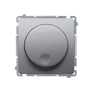 Ściemniacz naciskowo-obrotowy (moduł), 20–500 W, 230V~, stal inox BMS9T.01/21