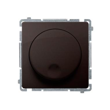 Ściemniacz naciskowo-obrotowy (moduł), 20–500 W, 230V~, czekoladowy BMS9T.01/47