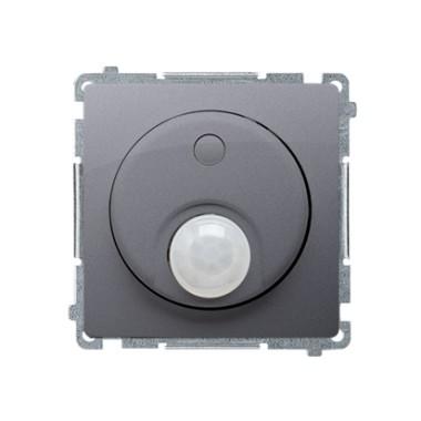 Łącznik z czujnikiem ruchu z zabezpieczeniem przed nieuprawnionym dostępem do elementów sterujących (moduł) 20–500 W, srebrny ma