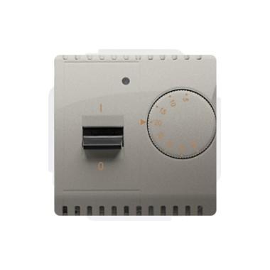 Regulator temperatury z czujnikiem wewnętrznym 230V~ satynowy BMRT10W.02/29