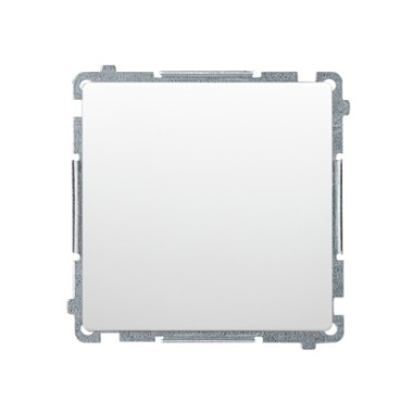 Łącznik jednobiegunowy (moduł) 10AX, 250V~, szybkozłącza, biały BMW1.01/11