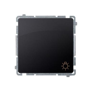Przycisk światło (moduł) 10AX, 250V~, szybkozłącza, grafit matowy BMS1.01/28