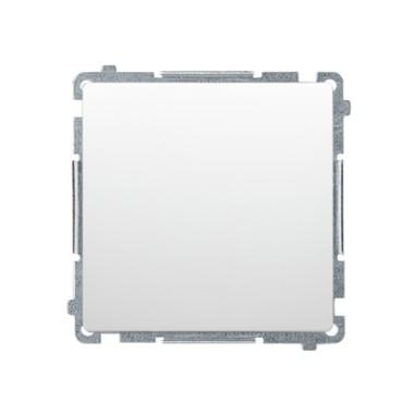 Przycisk pojedynczy zwierny bez piktogramu (moduł) 10AX, 250V~, szybkozłącza, biały BMP1.01/11