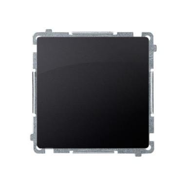 Przycisk pojedynczy zwierny bez piktogramu (moduł) 10AX, 250V~, szybkozłącza, grafit matowy BMP1.01/28