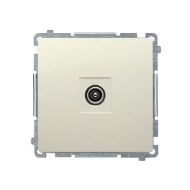 Gniazdo antenowe pojedyncze końcowe (moduł), beż   (zastępuje BMAK1.01/..) BMAK3.01/12