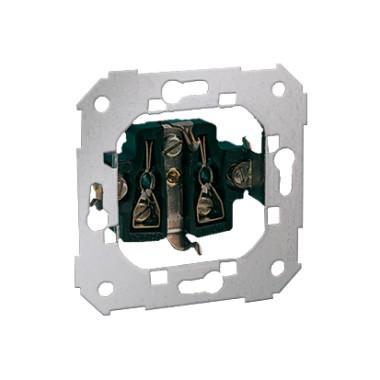Gniazdo wtyczkowe z uziemieniem typu Schuko (mechanizm) ~ śrubowe 75432-39