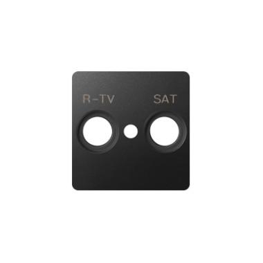 Pokrywa do gniazd RTV-SAT, grafit 82097-38