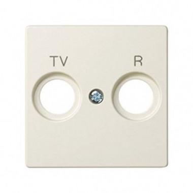 Pokrywa do gniazd R-TV, kremowy 82053-31
