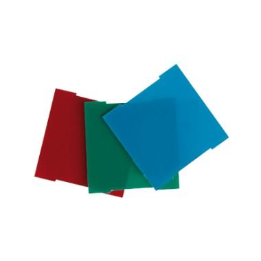 Zestaw filtrów (czerwony, niebieski, zielony) do pokrywy: 82036 82960-39