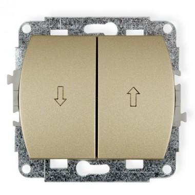 Mechanizm łącznika żaluzjowego Karlik TREND 6WP-8 złoty